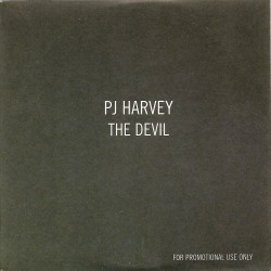 PJ Harvey - The Devil - CD Single Promo