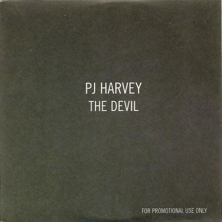 PJ Harvey - The Devil - CD Single Promo