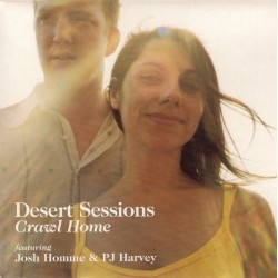 PJ Harvey -  Desert Sessions - Josh Homme - Crawl Home - CD Maxi Single Promo