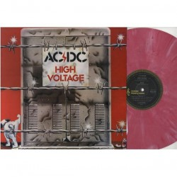 AC/DC ‎- High Voltage - LP Vinyl Coloured Pink