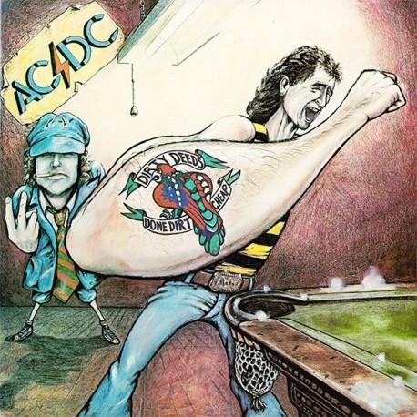 AC/DC - Dirty Deeds Done Dirt Cheap - LP Vinyl