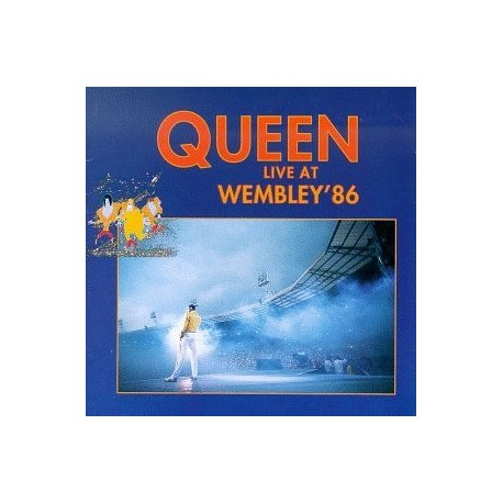 Queen ‎- Live At Wembley 86 - Double Vinyl LP Coloured