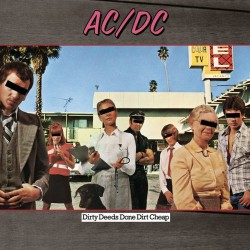 AC/DC ‎- Dirty Deeds Done Dirt Cheap - LP Vinyl