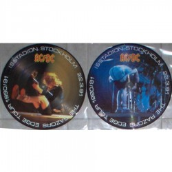AC/DC - The Razors Edge Tour - Isstadion Stockholm 1991 - Limited 2LP Picture Disc