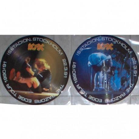 AC/DC - The Razors Edge Tour - Isstadion Stockholm 1991 - Limited 2LP Picture Disc