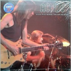 AC/DC ‎- If You Want Blood... You Got Munich! - LP Vinyl Coloured