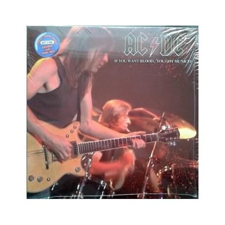 AC/DC - If You Want Blood... You Got Munich! - LP Vinyl Coloured
