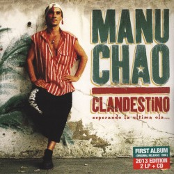 Manu Chao ‎- Clandestino - Double LP Vinyl + CD