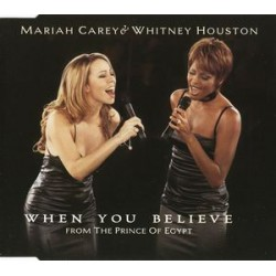 Mariah Carey & Whitney Houston ‎- When You Believe - CD Maxi Single