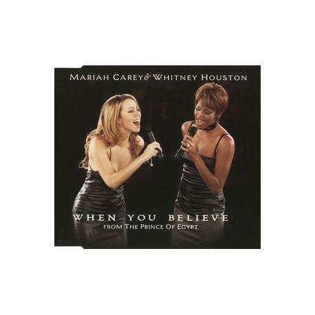 Mariah Carey & Whitney Houston - When You Believe - CD Maxi Single