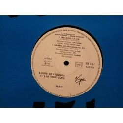 Louis Bertignac & Les Visiteurs ( Téléphone ) - Ces Idées-Là - Maxi Vinyl Promo