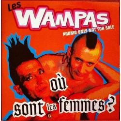 Les Wampas - Où Sont Les Femmes ? - Maxi Vinyl Promo