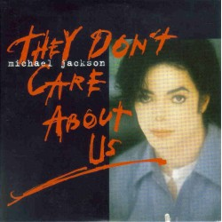Michael Jackson ‎- They Don't Care About Us - CD Single