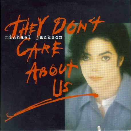 Michael Jackson - They Don't Care About Us - CD Single