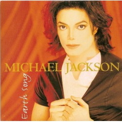 Michael Jackson ‎- Earth Song - CD Single