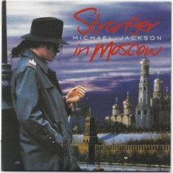 Michael Jackson ‎- Stranger In Moscow - CD Single