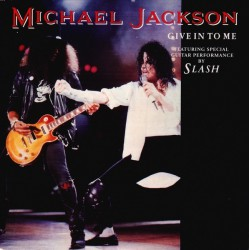 Michael Jackson ‎- Give In To Me - CD Single