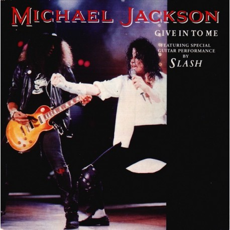 Michael Jackson - Give In To Me - CD Single