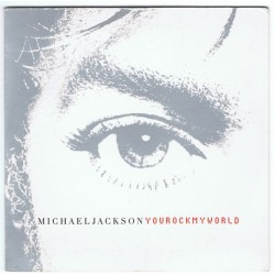 Michael Jackson ‎- You Rock My World - CD Single