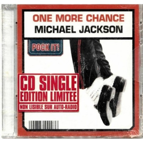 Michael Jackson - One More Chance - Limited Edition Pock It - CD Mini Single