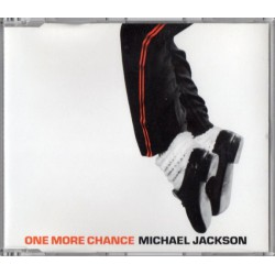 Michael Jackson ‎- One More Chance - CD Maxi Single Promo