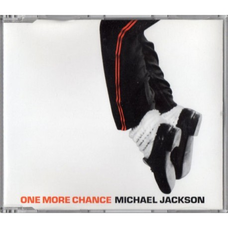 Michael Jackson - One More Chance - CD Maxi Single Promo