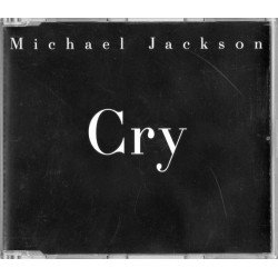Michael Jackson ‎- Cry - CD Maxi Single Promo