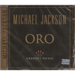 Michael Jackson ‎- Oro - Grandes Exitos - CD Album