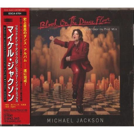 Michael Jackson - Blood On The Dance Floor - HIStory In The Mix - CD Album + Obi