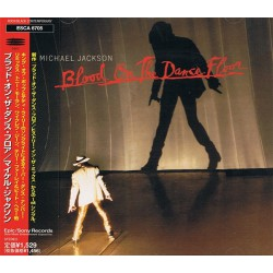 Michael Jackson ‎- Blood On The Dance Floor - CD Maxi Single Promo