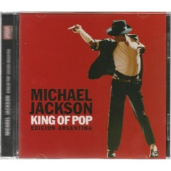 Michael Jackson ‎- King Of Pop (Edición Argentina) - CD Album