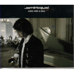Jamiroquai ‎- King For A Day - CD Maxi Single