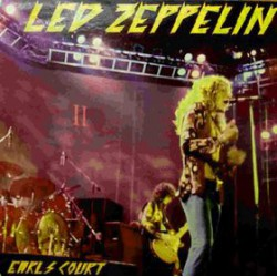 Led Zeppelin Earls Court 75 - Coloured Red Vinyl