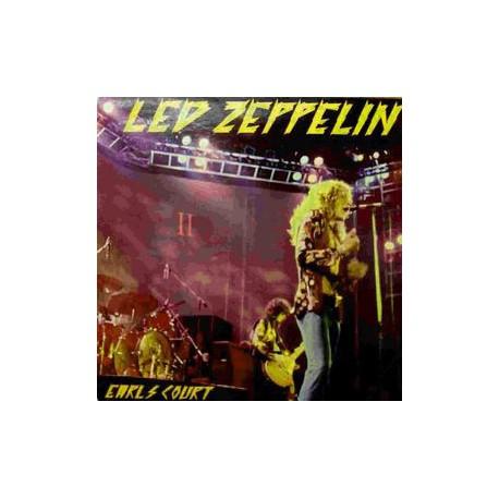 Led Zeppelin Earls Court 75 - Coloured Red Vinyl