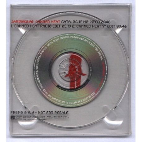 Jamiroquai - Canned Heat - CD Maxi Single Promo