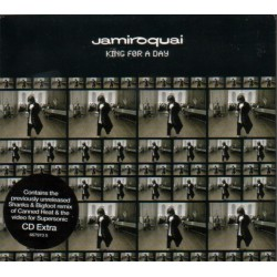 Jamiroquai ‎- King For A Day - CD Maxi Single Enhanced Extra