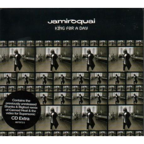 Jamiroquai - King For A Day - CD Maxi Single Enhanced Extra