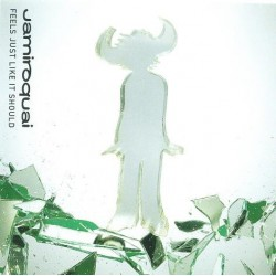 Jamiroquai ‎- Feels Just Like It Should - CD Maxi Single Enhanced