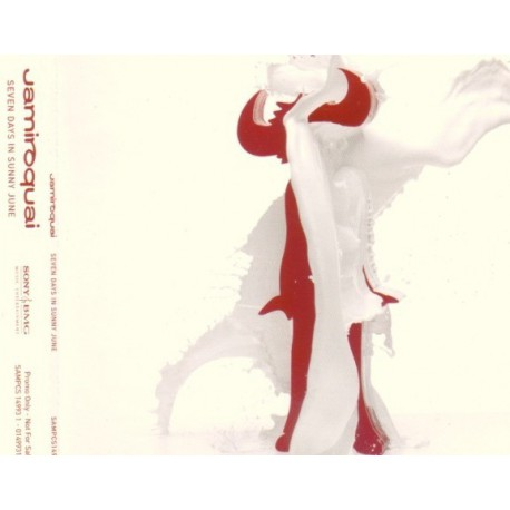 Jamiroquai - Seven Days In Sunny June - CD Maxi Single Promo