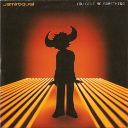 Jamiroquai ‎- You Give Me Something - CD Maxi Single
