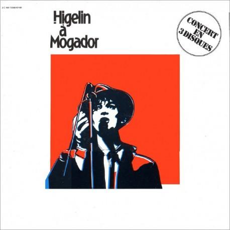 Jacques Higelin - Higelin A Mogador - Triple LP Vinyl