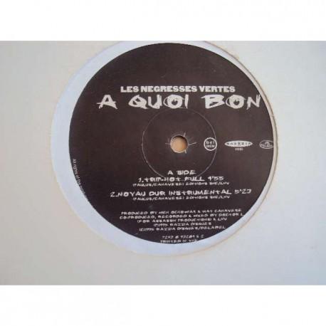 Les Negresses Vertes - A Quoi Bon - Remixes - Maxi Vinyl
