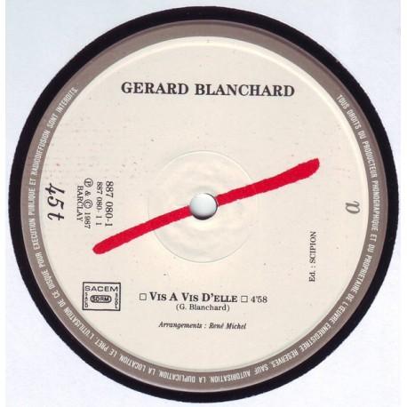 Gérard  Blanchard - Vis A Vis D'elle - Maxi vinyl