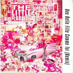 The Little Rabbits - Une Belle Fille Comme Toi Remix - Maxi Vinyl, Promo