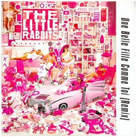 The Little Rabbits - Une Belle Fille Comme Toi Remix - Maxi Vinyl, Promo