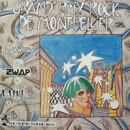 Grand Prix Rock De Montpellier - Compilation - LP Vinyl