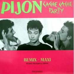 Pijon – Cache Cache Party - Remix Maxi - Maxi Vinyl Promo