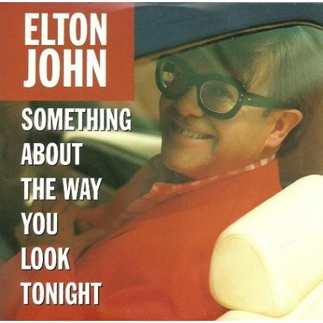 Elton John - Something About The Way You Look Tonight - CD Single Promo