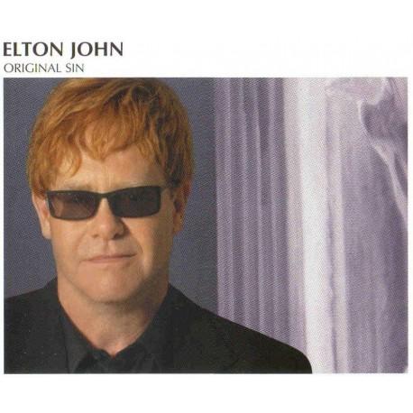 Elton John - Original Sin - CD Maxi Single