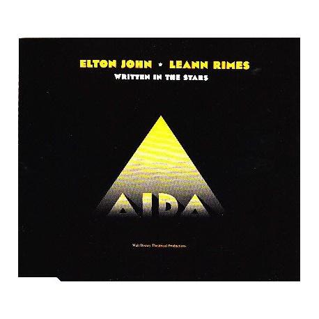 Elton John - Written In The Stars - CD Maxi Single Promo